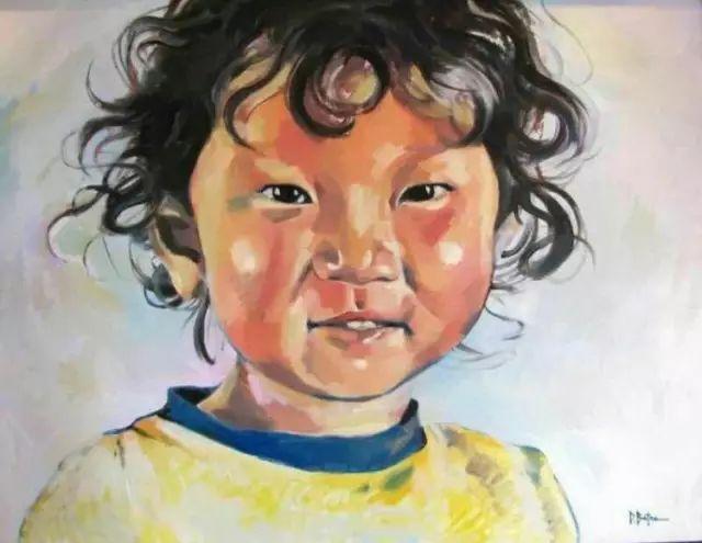 记录草原往事:画家巴图纳森写实水彩作品欣赏 第14张