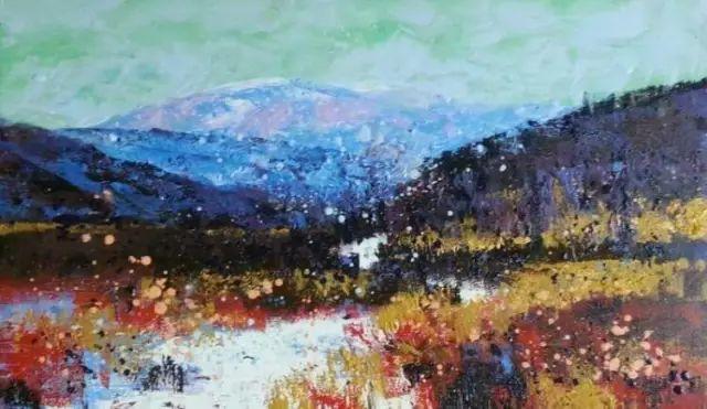 记录草原往事:画家巴图纳森写实水彩作品欣赏 第21张