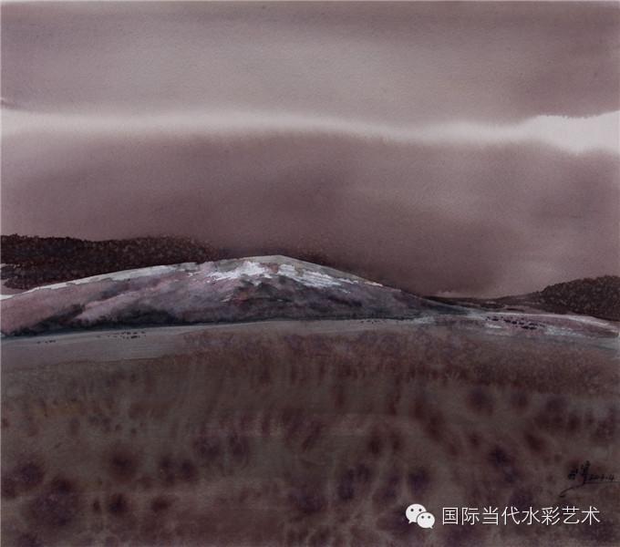 当代著名水彩画家专集——张曙光 第13张