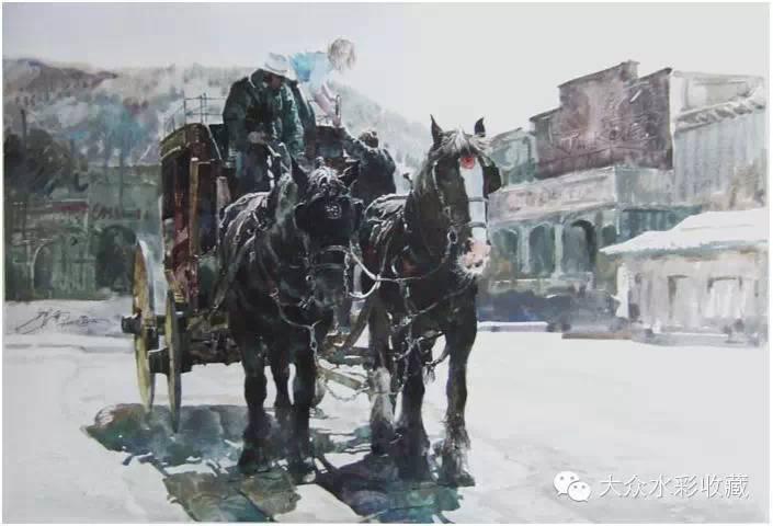 【名家作品】 水彩画家蒋智南与他的《欧洲之旅》 第3张