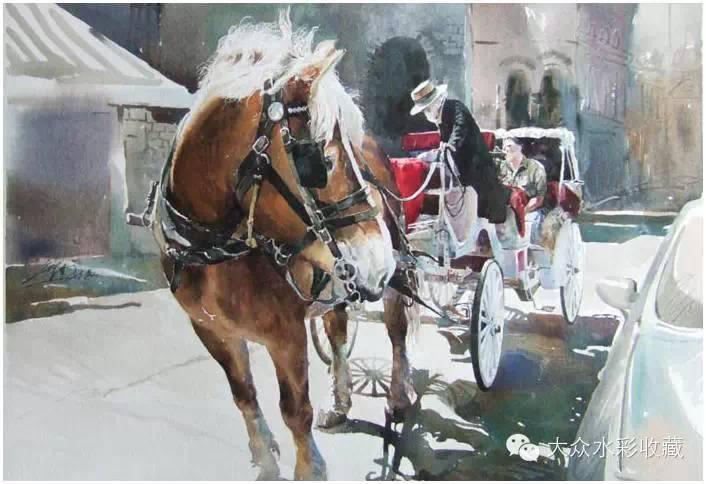【名家作品】 水彩画家蒋智南与他的《欧洲之旅》 第8张