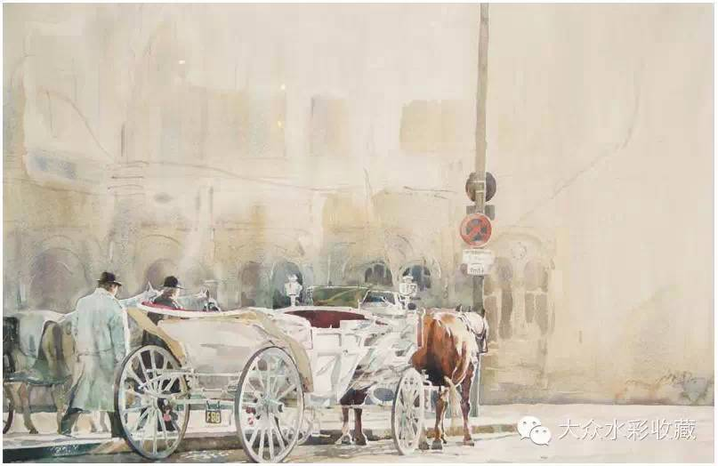 【名家作品】 水彩画家蒋智南与他的《欧洲之旅》 第10张