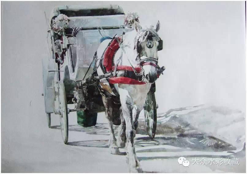 【名家作品】 水彩画家蒋智南与他的《欧洲之旅》 第6张