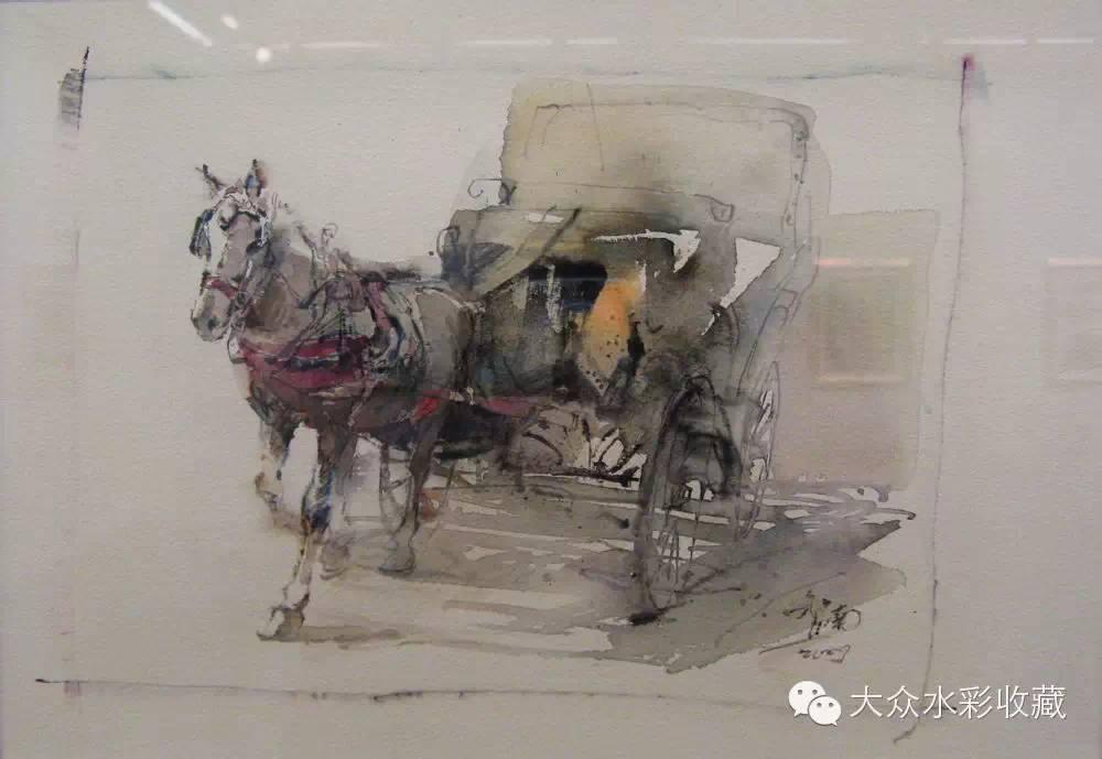 【名家作品】 水彩画家蒋智南与他的《欧洲之旅》 第17张