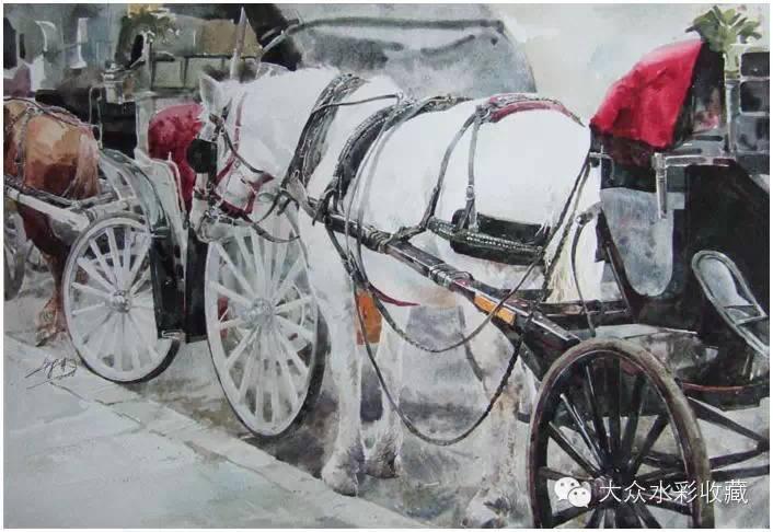 【名家作品】 水彩画家蒋智南与他的《欧洲之旅》 第14张