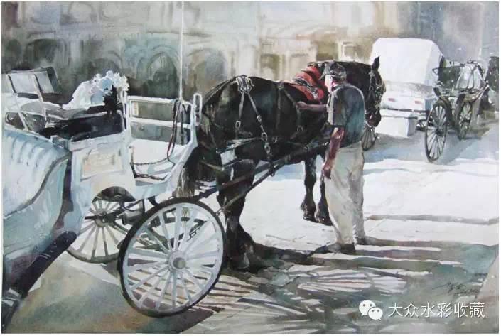 【名家作品】 水彩画家蒋智南与他的《欧洲之旅》 第13张