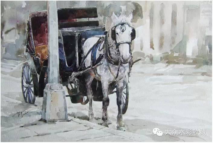 【名家作品】 水彩画家蒋智南与他的《欧洲之旅》 第15张