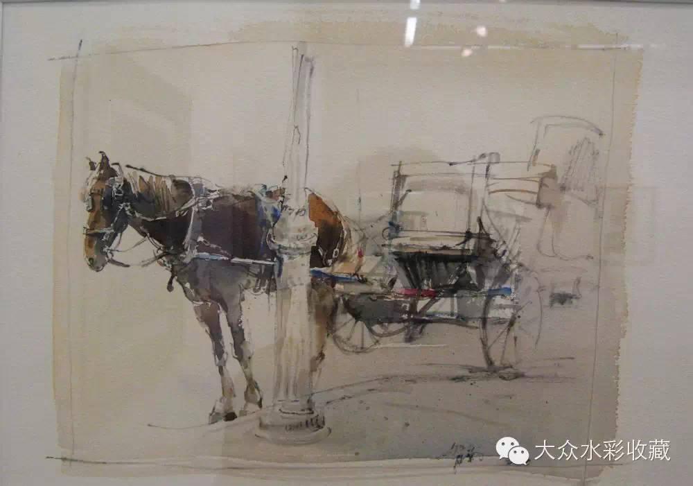 【名家作品】 水彩画家蒋智南与他的《欧洲之旅》 第21张