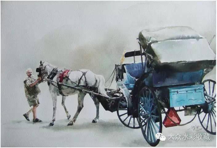 【名家作品】 水彩画家蒋智南与他的《欧洲之旅》 第22张