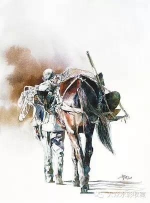 【名家作品】 水彩画家蒋智南与他的《欧洲之旅》 第25张