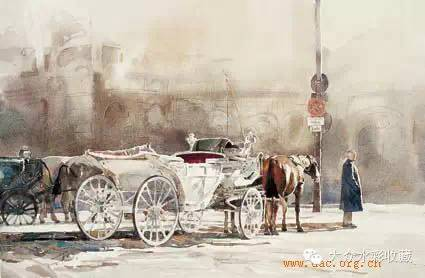 【名家作品】 水彩画家蒋智南与他的《欧洲之旅》 第26张