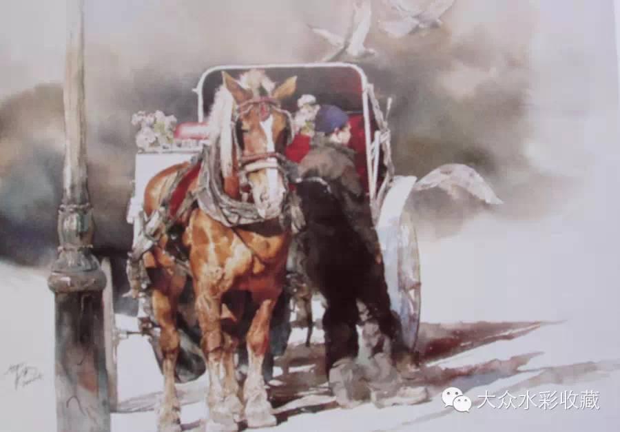 【名家作品】 水彩画家蒋智南与他的《欧洲之旅》 第29张