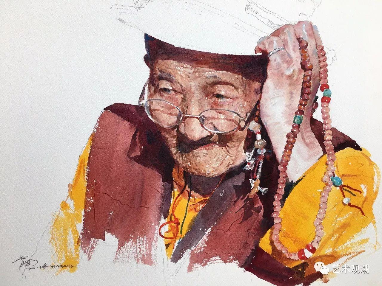 中国当代水彩系列研究展首展(北京)蒋智南作品欣赏 第8张