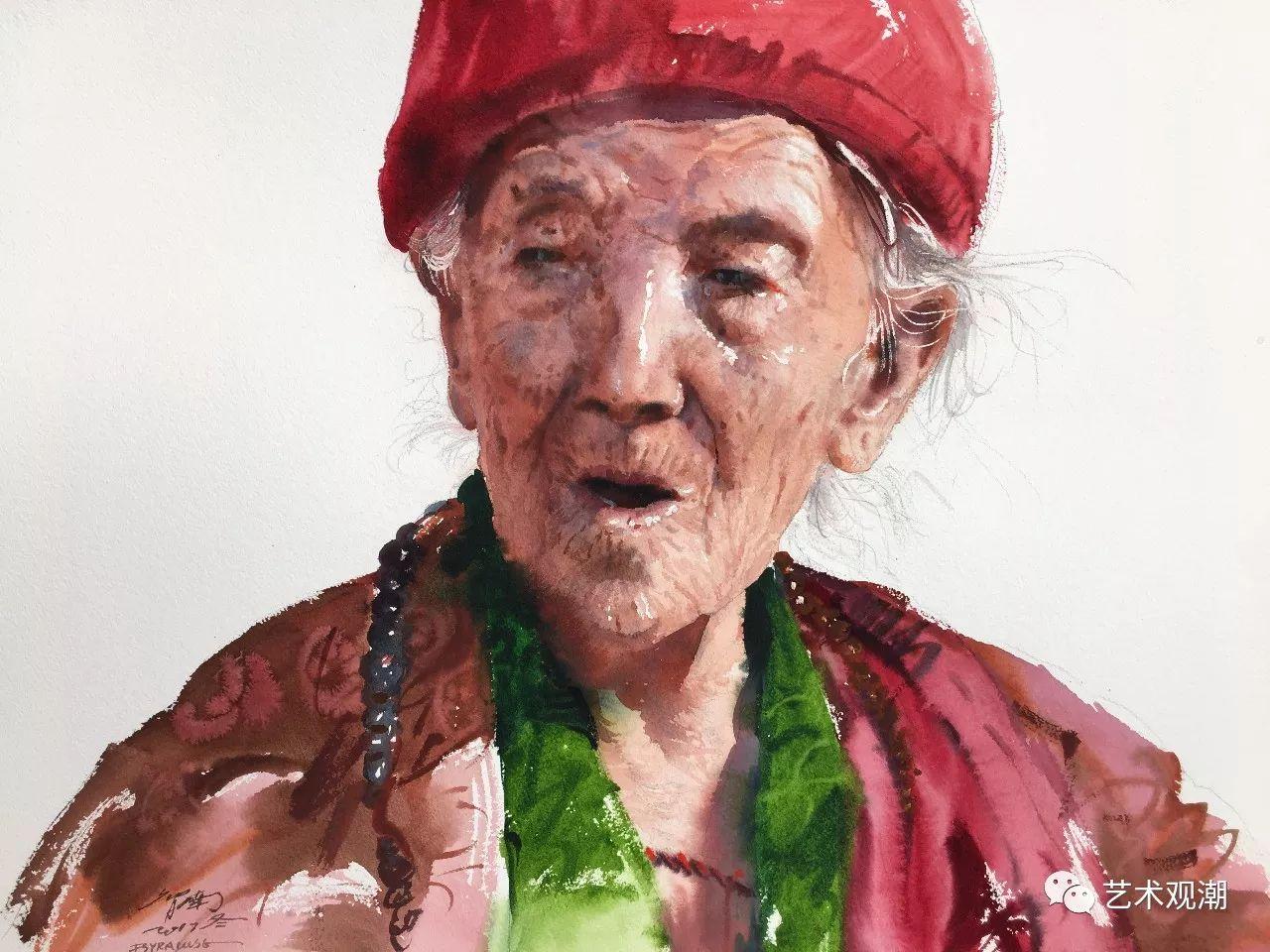 中国当代水彩系列研究展首展(北京)蒋智南作品欣赏 第7张