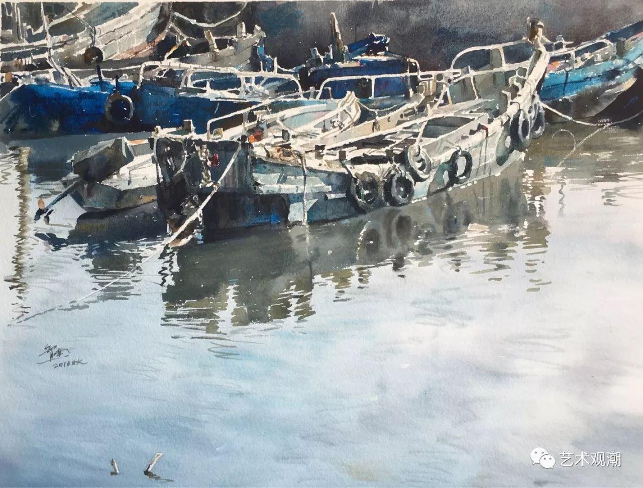 中国当代水彩系列研究展首展(北京)蒋智南作品欣赏 第16张