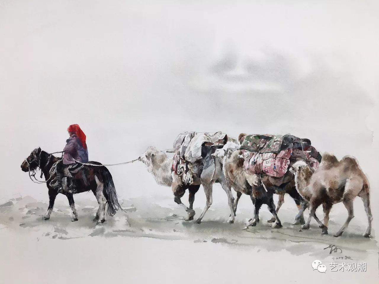 中国当代水彩系列研究展首展(北京)蒋智南作品欣赏 第17张