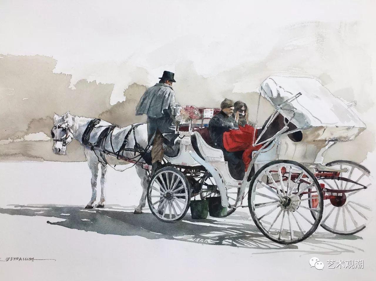 中国当代水彩系列研究展首展(北京)蒋智南作品欣赏 第18张