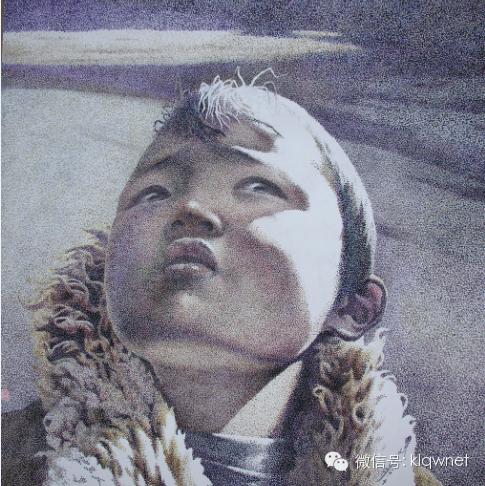 呼日查(库伦画家)水彩画作品欣赏 第4张