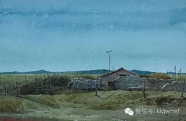 呼日查(库伦画家)水彩画作品欣赏 第9张