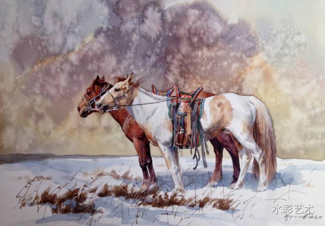 🔵著名水彩艺术家——巴达日胡老师的作品 第19张
