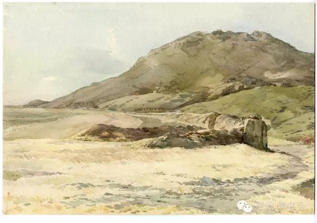 著名画家奥迪:水彩画记录下的呼和浩特旧景 第28张