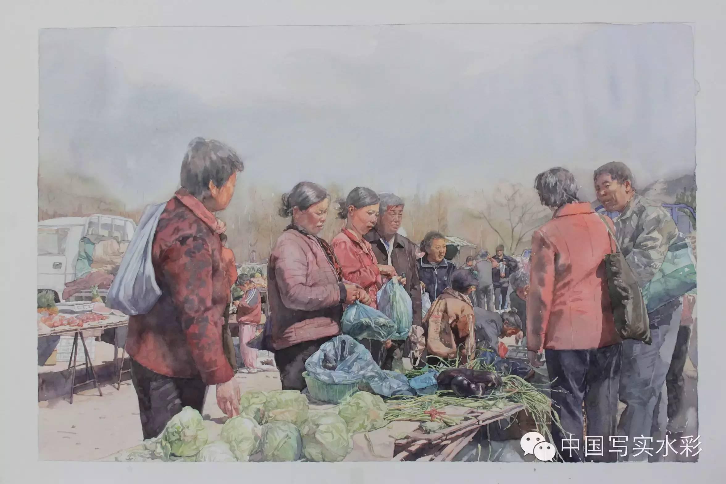中国写实水彩第一回展——参展画家何媛媛作品欣赏 第8张