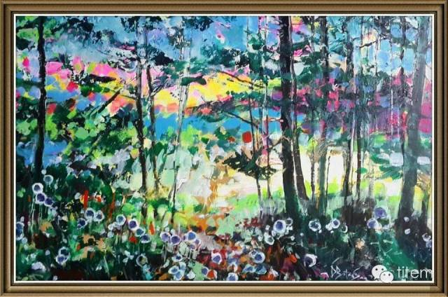画家达. 巴图那顺水彩画作品分享 第33张