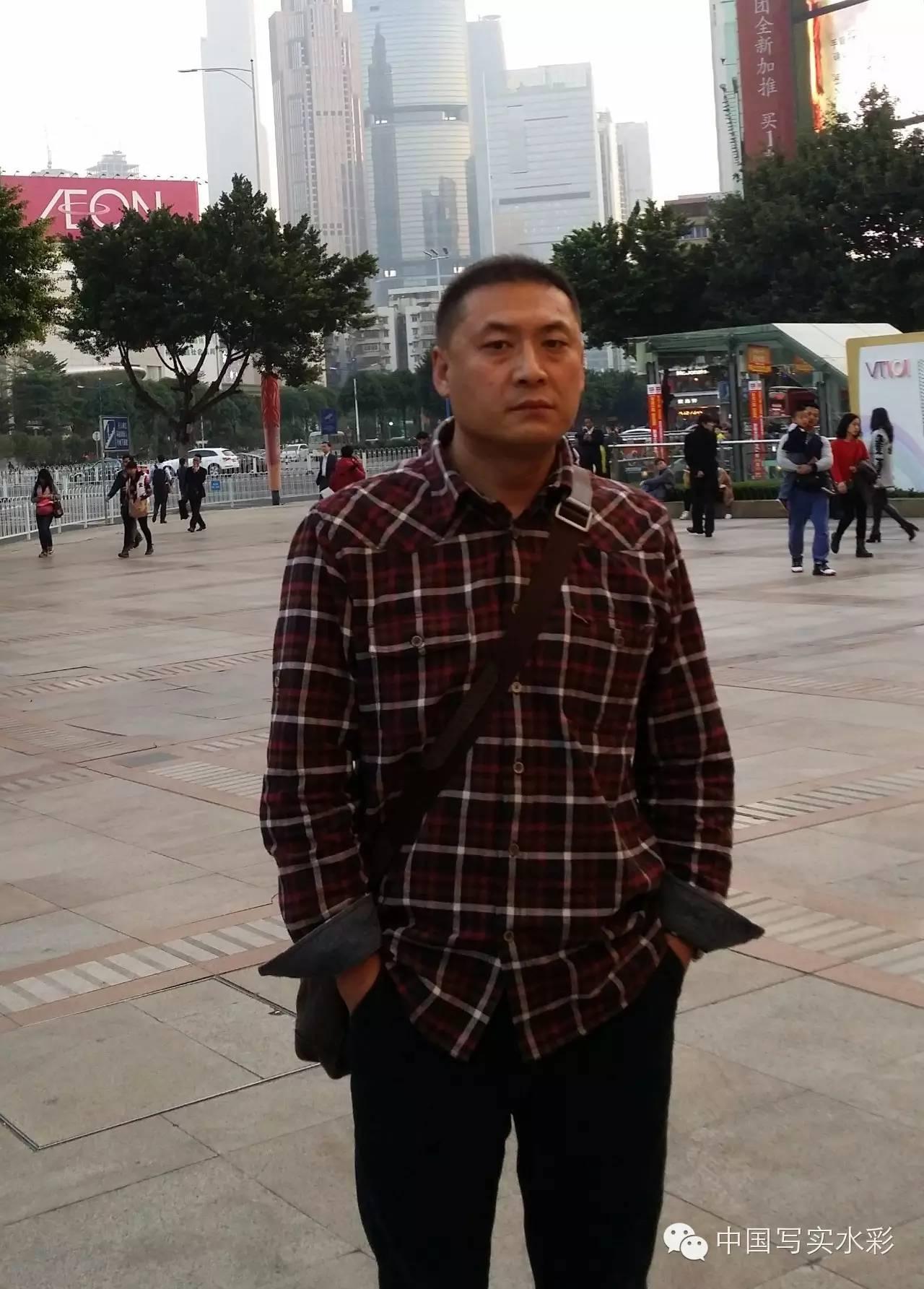 中国写实水彩第一回展——参展画家长海作品欣赏 第1张