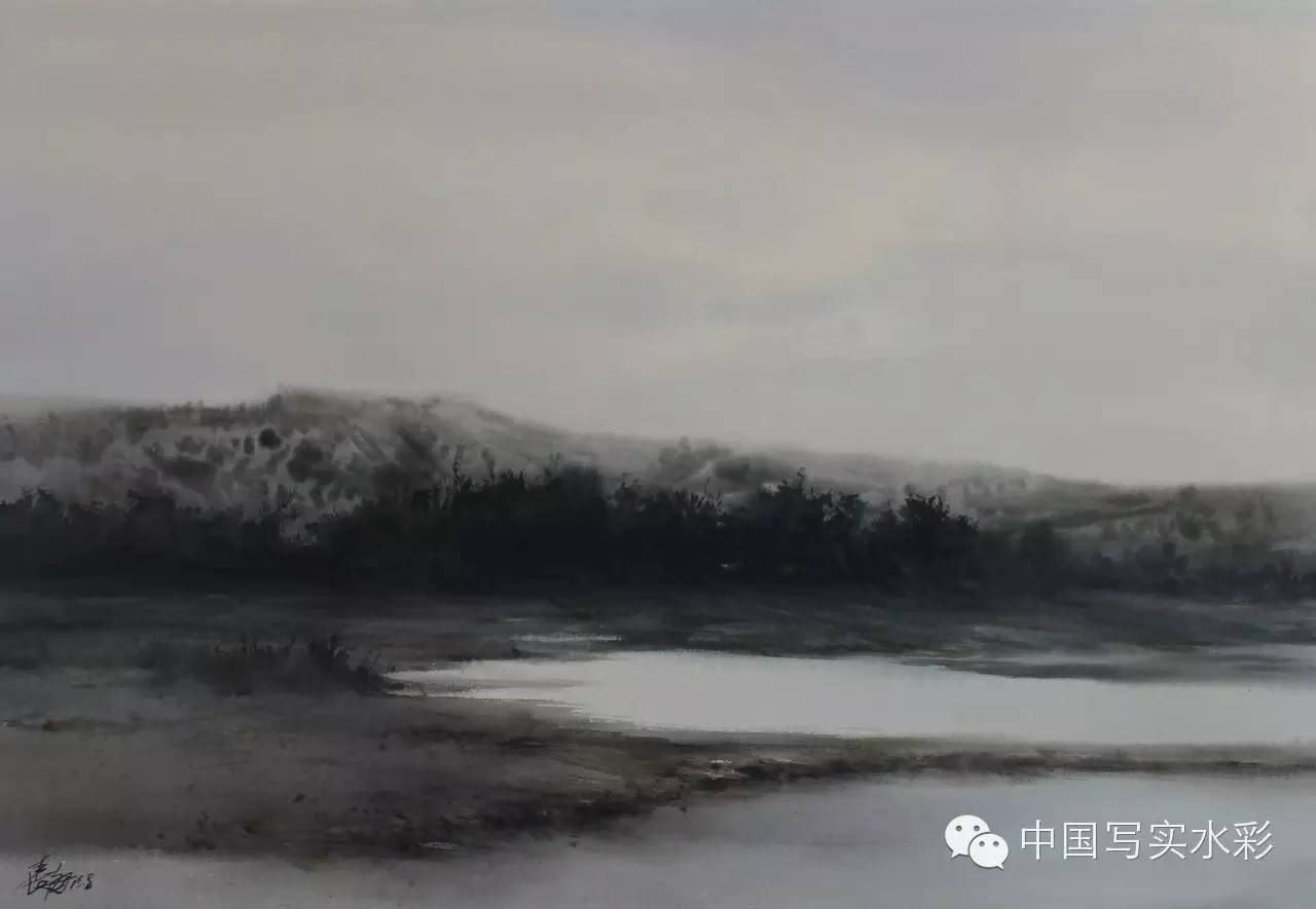 中国写实水彩第一回展——参展画家长海作品欣赏 第8张