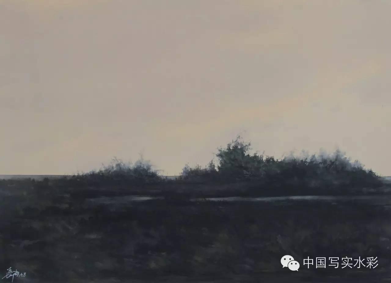 中国写实水彩第一回展——参展画家长海作品欣赏 第7张