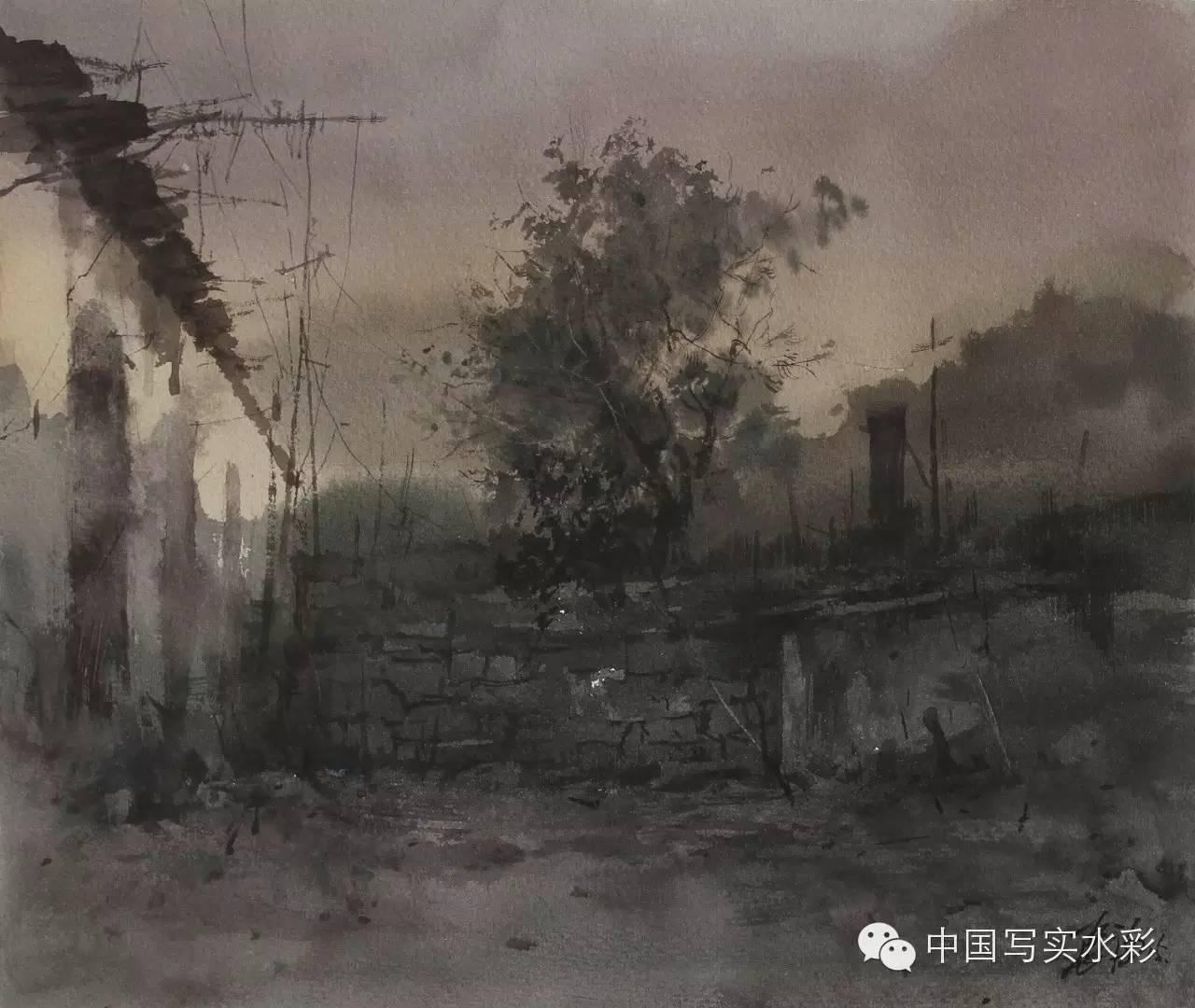 中国写实水彩第一回展——参展画家长海作品欣赏 第10张