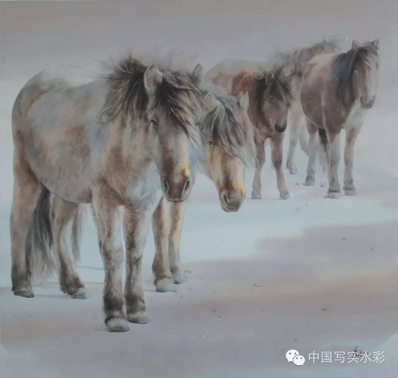 中国写实水彩第一回展——参展画家长海作品欣赏 第13张