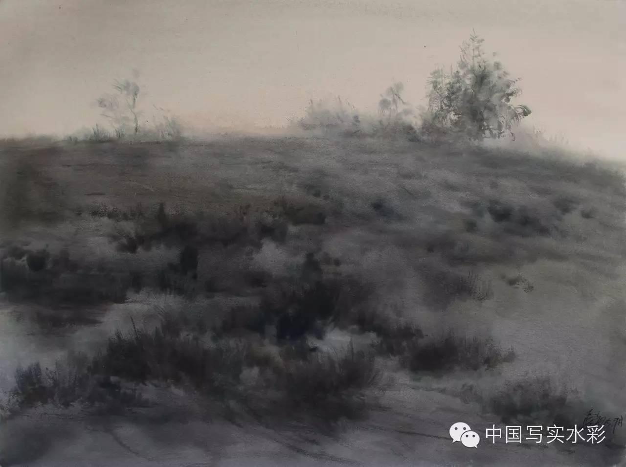 中国写实水彩第一回展——参展画家长海作品欣赏 第17张