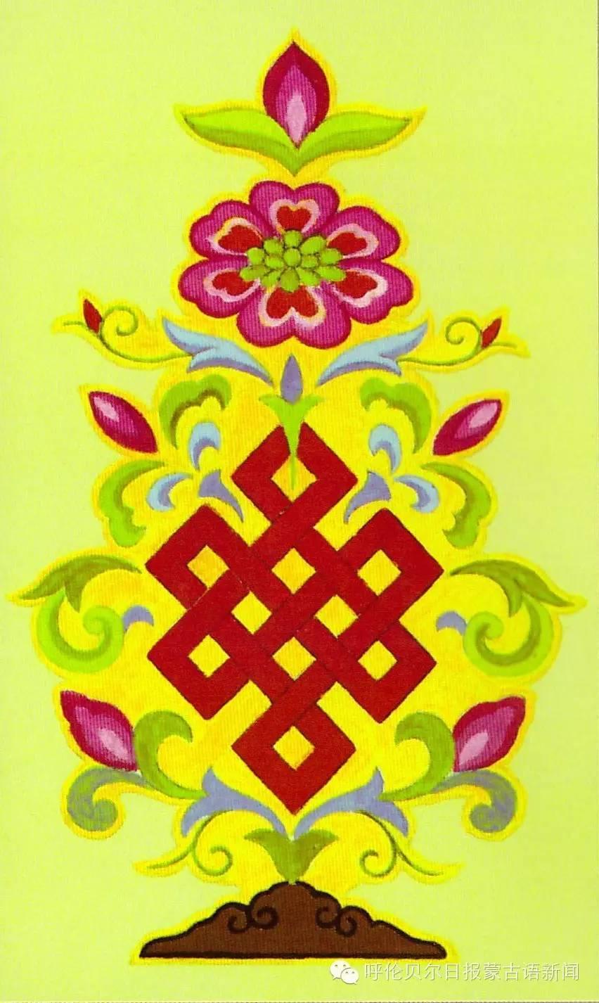 巴尔虎蒙古族花纹工艺欣赏 第6张