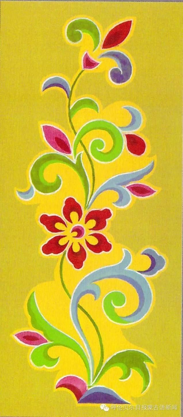 巴尔虎蒙古族花纹工艺欣赏 第5张