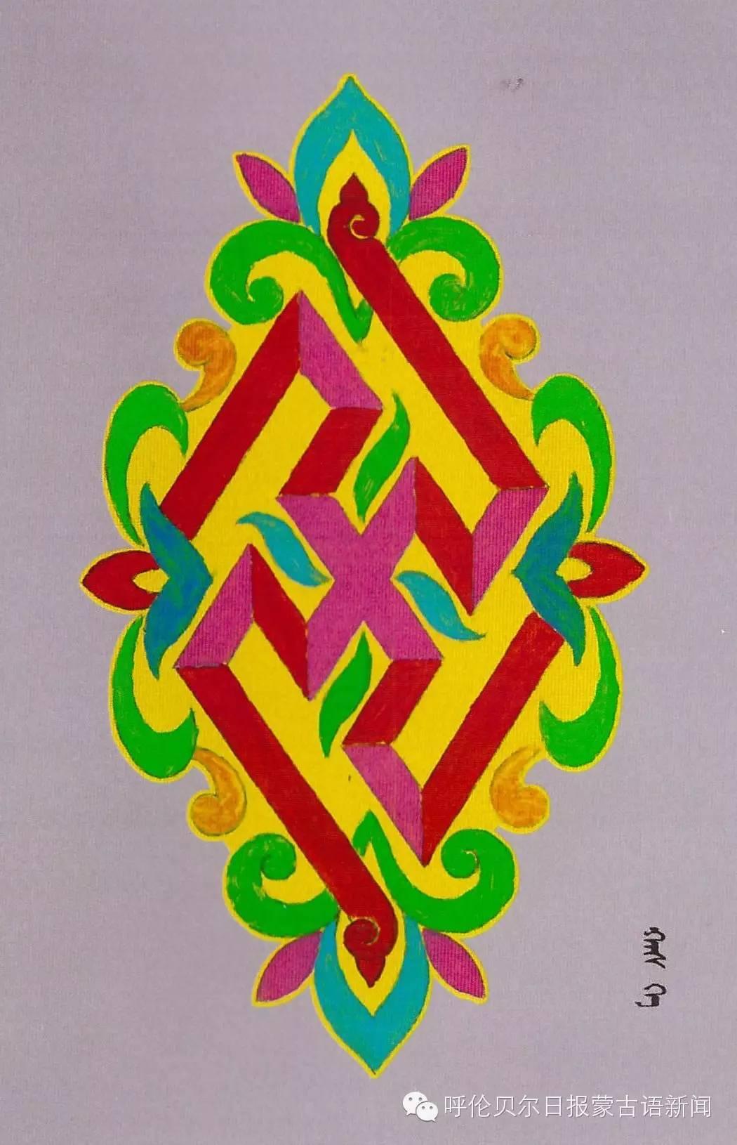 巴尔虎蒙古族花纹工艺欣赏 第12张