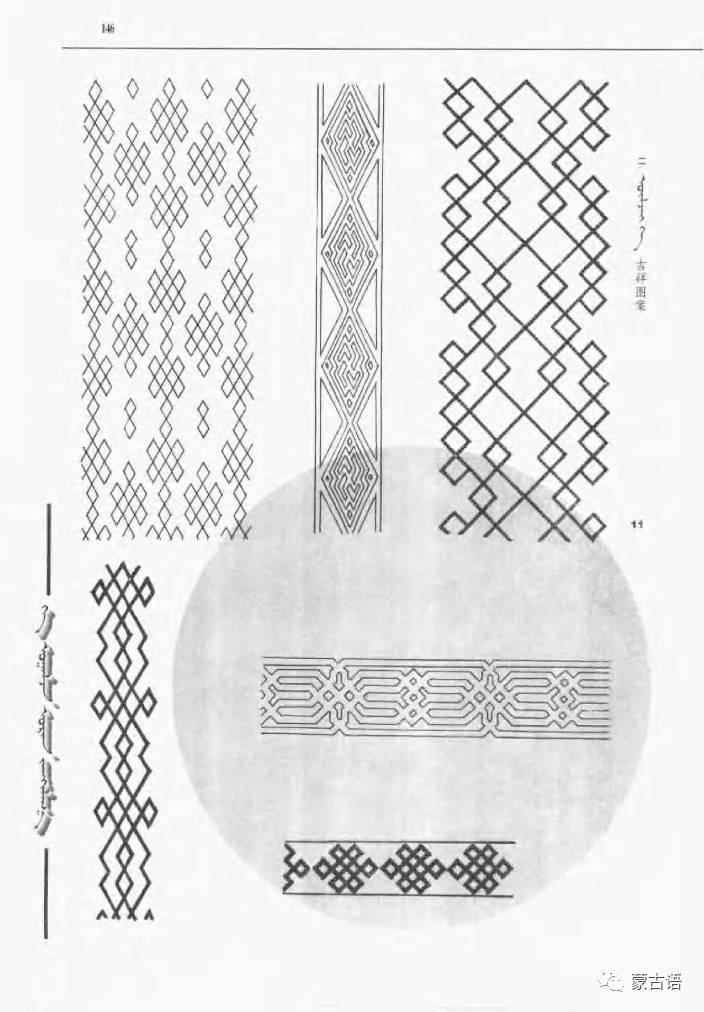 蒙古族传统文化图鉴—花纹图案与各种结子 第8张