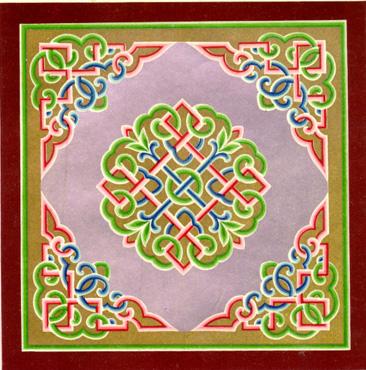蒙古图案彩色版1 第4张