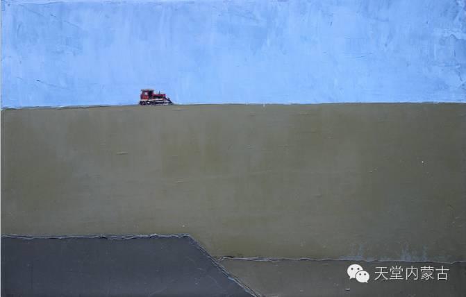 内蒙古油画家---孙勇作品集 第14张