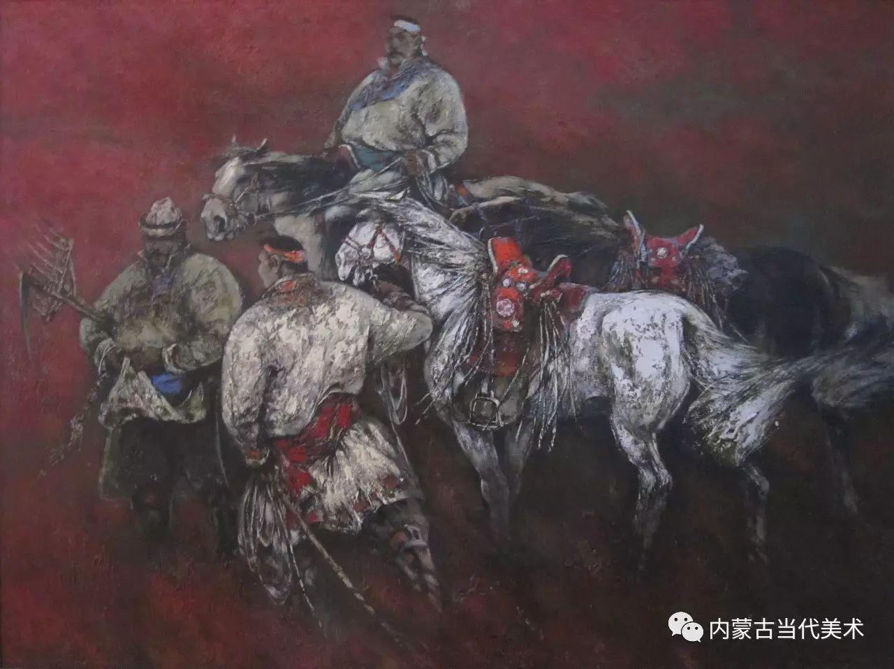 内蒙古油画微展系列——易  晶 第3张