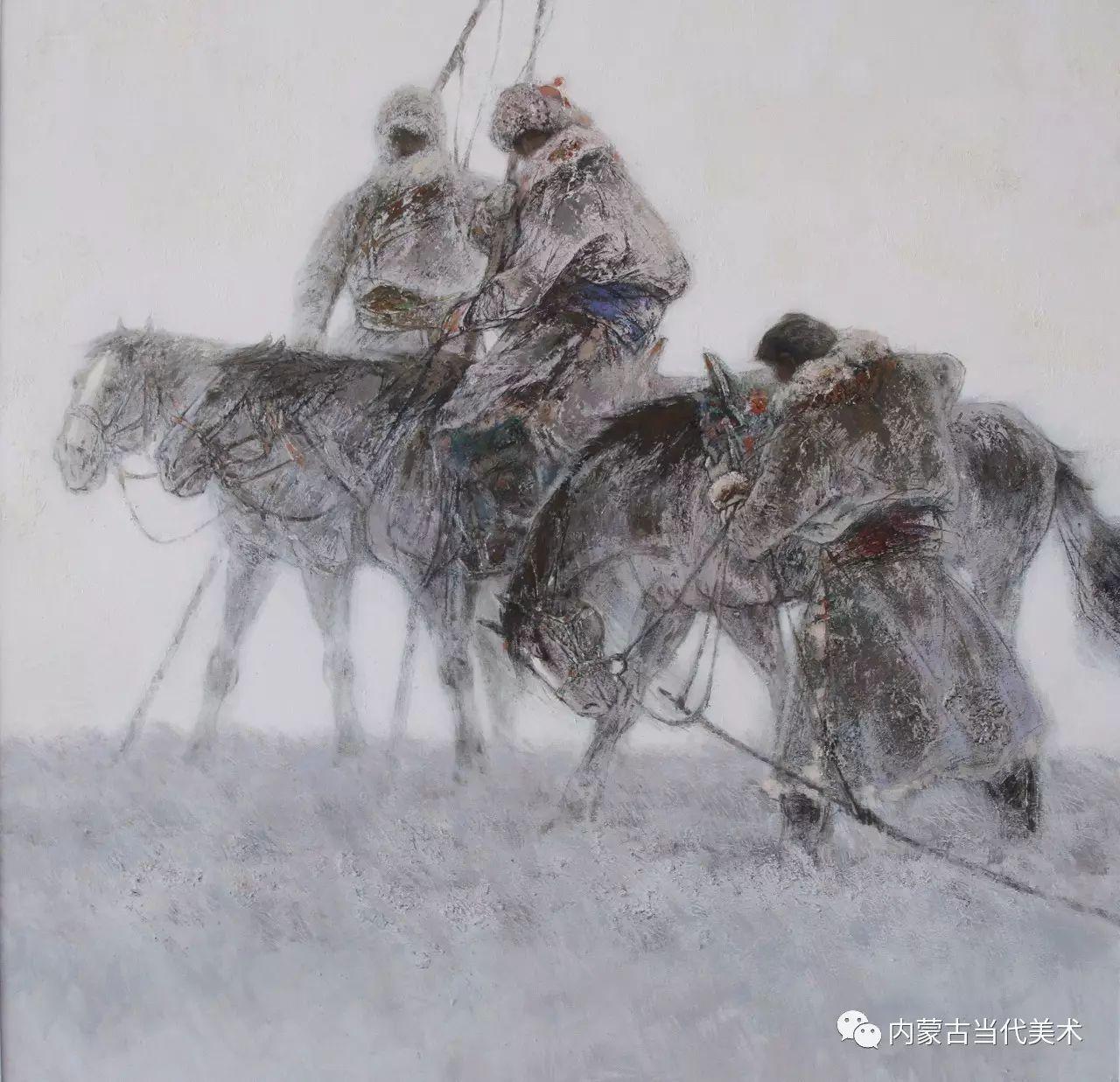 内蒙古油画微展系列——易  晶 第2张