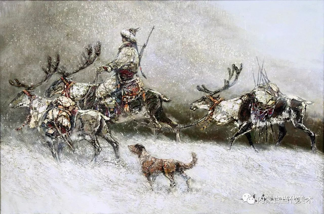 内蒙古油画微展系列——易  晶 第6张