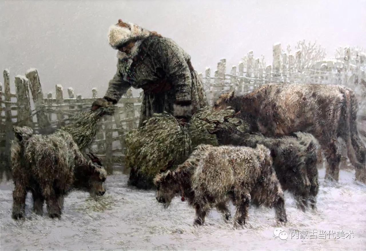 内蒙古油画微展系列——易  晶 第8张