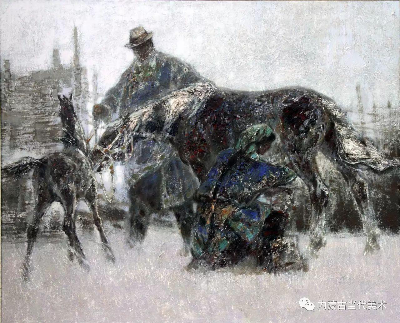 内蒙古油画微展系列——易  晶 第13张