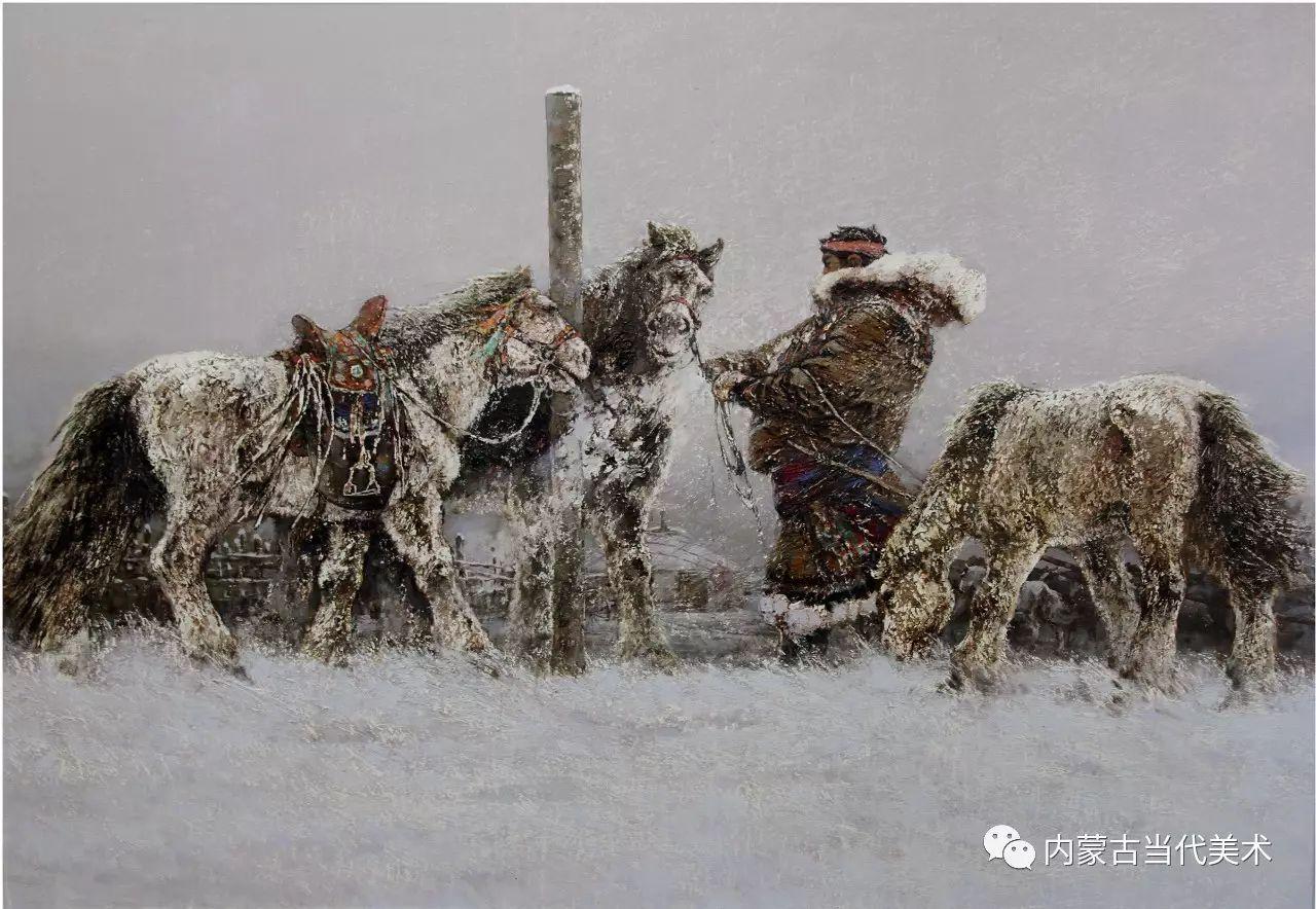 内蒙古油画微展系列——易  晶 第15张