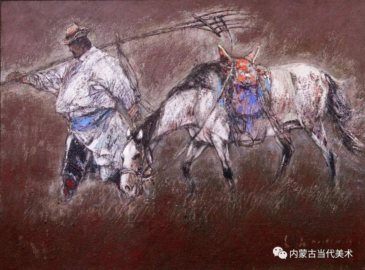 内蒙古油画微展系列——易  晶 第17张