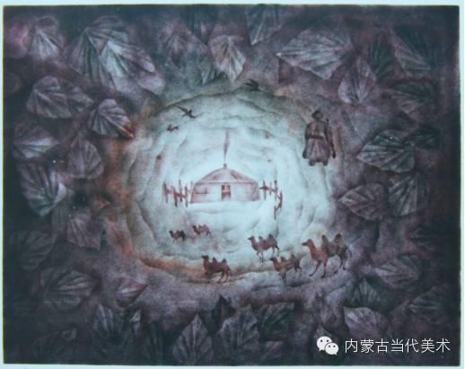 内蒙古当代美术家系列——陈春雷与他的创作 第3张