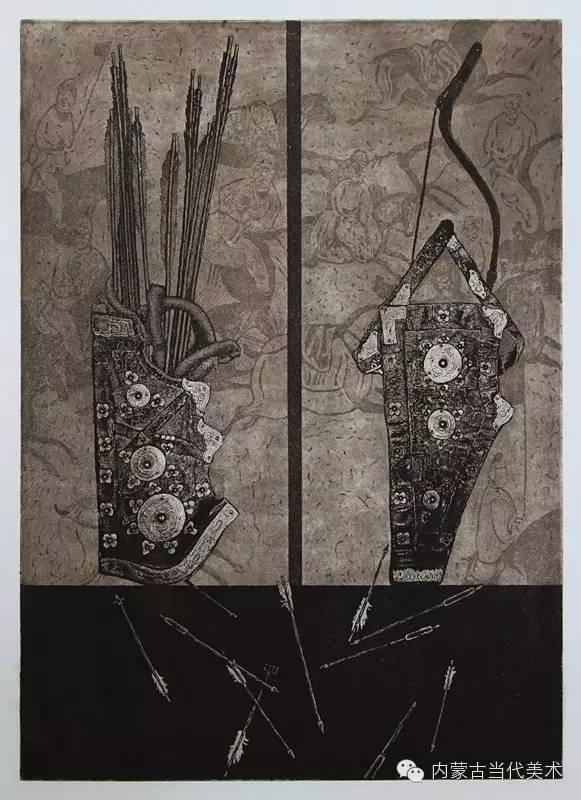 内蒙古当代美术家系列——陈春雷与他的创作 第5张
