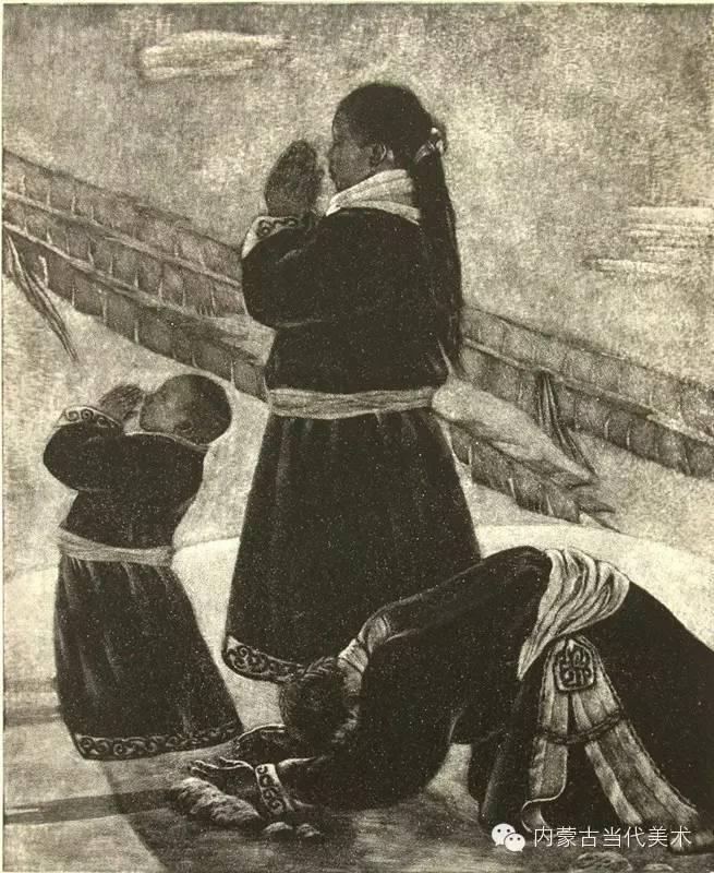 内蒙古当代美术家系列——陈春雷与他的创作 第9张