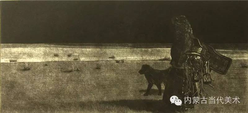 内蒙古当代美术家系列——陈春雷与他的创作 第7张